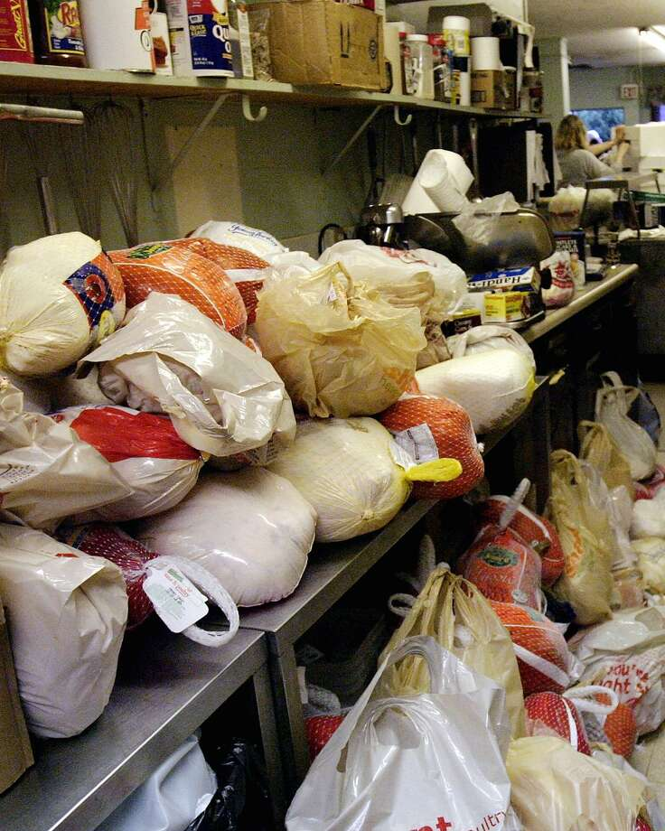 Cesar E. Chavez Legacy & Educational Foundation's needs people to help with its annual Thanksgiving in the Barrio on Sunday and Monday. Photo: Associated Press File Photo / NASHUA TELEGRAPH