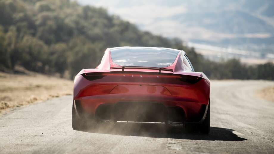 Tesla has released renderings of the new Tesla Roadster, which is expected to be in production in 2020. Photo: Tesla Motors