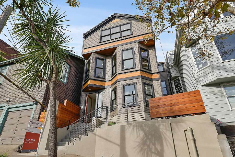 148-152 Saturn St. in Corona Heights is three separate residences available for $4.99 million. Photo: Open Homes Photography