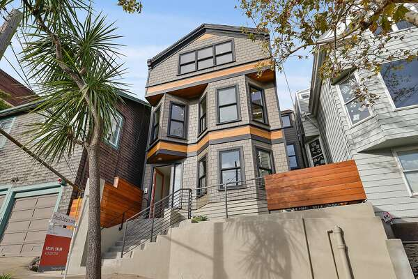 148-152 Saturn St. in Corona Heights is three separate residences available for $4.99 million.
