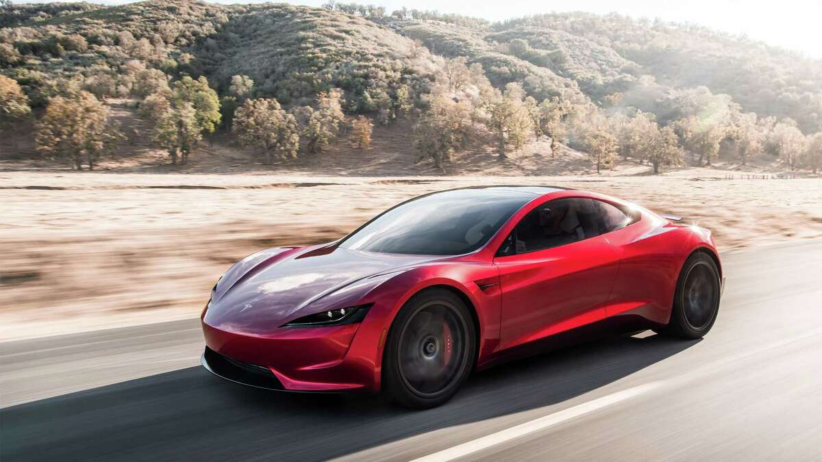 The Tesla Roadster was unveiled on Thursday, November 16, 2017 at the Tesla Design Center in Hawthorne, California.