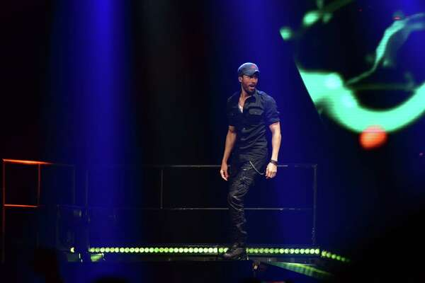 Enrique Iglesias Performs at the Toyota Center in downtown Houston on Thursday, November