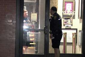 According to police, the thief walked into a side door of the Hard Rock Cafe in the 100 block of West Crockett Street sometime Thursday night and snagged the guitar.