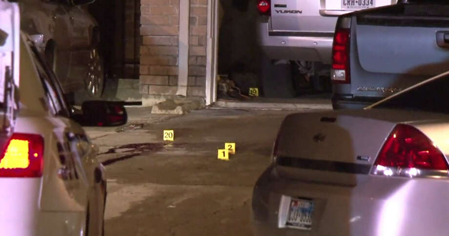 Two brothers died late Thursday night, according to the Harris County Sheriff's Office. According to deputies, an argument escalated and then became physical. The two brothers left the inside of their home to go outside and that's when one brother pulled the weapon. According to police he shot his brother and then himself. Photo: Metro Video