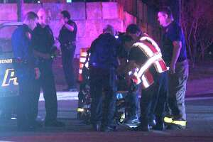 The suspected drunk driver, a woman in her 20s, ran the light around 12:30 a.m. at the intersection of Interstate 10 and Stonewall Parkway near the Dominion.