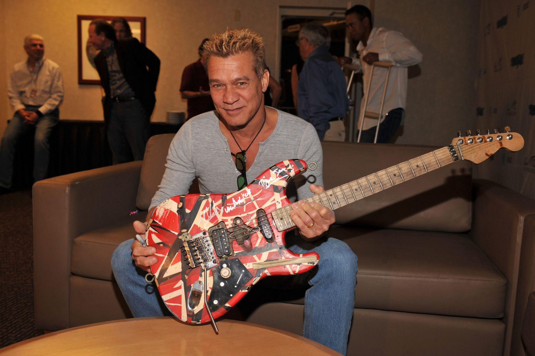Police: Eddie Van Halen's $100K guitar stolen from San Antonio's Hard Rock Cafe