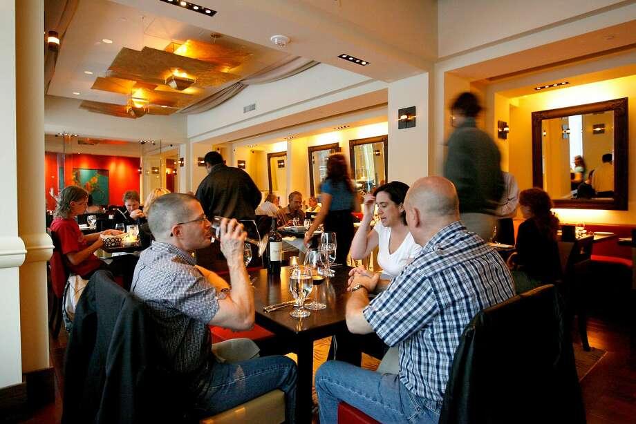 The main dining room at Amber India. Photo: Katy Raddatz, The Chronicle