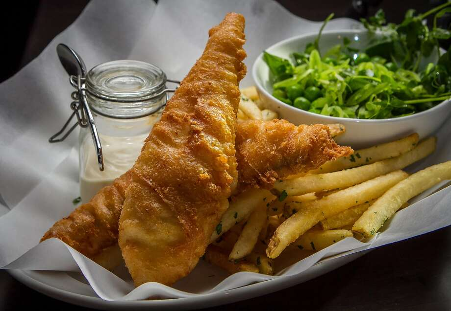 The fish and chips at the Cavalier. Photo: John Storey, Special To The Chronicle