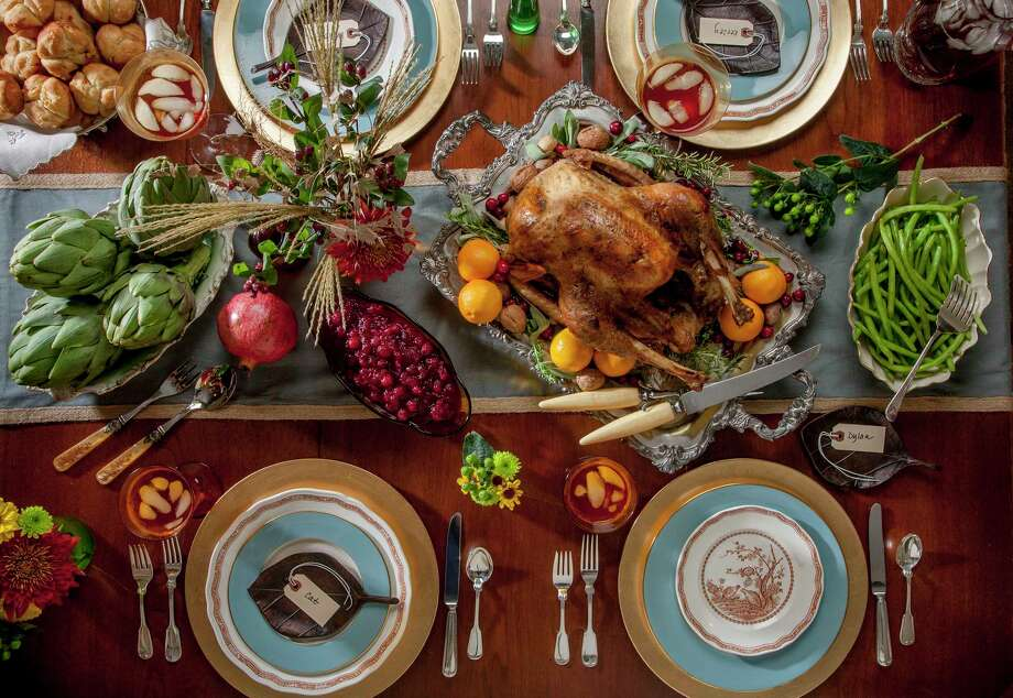 You should always prepare at least two turkeys: the stunt turkey with all the fancy razzle-dazzle add-ons and the larger business turkey, which serves as the main meal. Photo: John Everett / John Everett