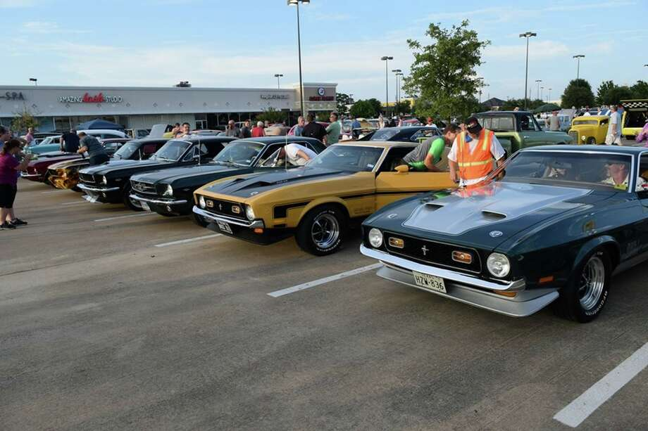 Last week's themed night fo the Niftee 50ees was the Mustang Night. Photo: Courtesy Of Randy Shannon