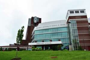 Norwalk Hospital in May 2017, in Norwalk.