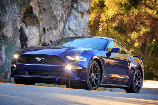Along with a lower, restyled hood and grille, every 2018 Mustang uses LED lighting up front, including low-beams, projector high-beams, signature lighting and if equipped, fog lamps.