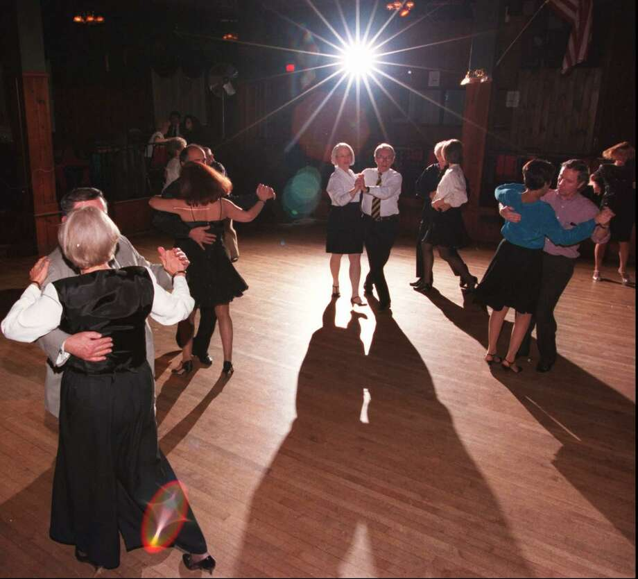 The Terrace Club on West Main St in Stamford holds Ballroom dancing on Wednesdays.   Nov 20, 96 Tom Ryan/Staff Photo Photo: ST