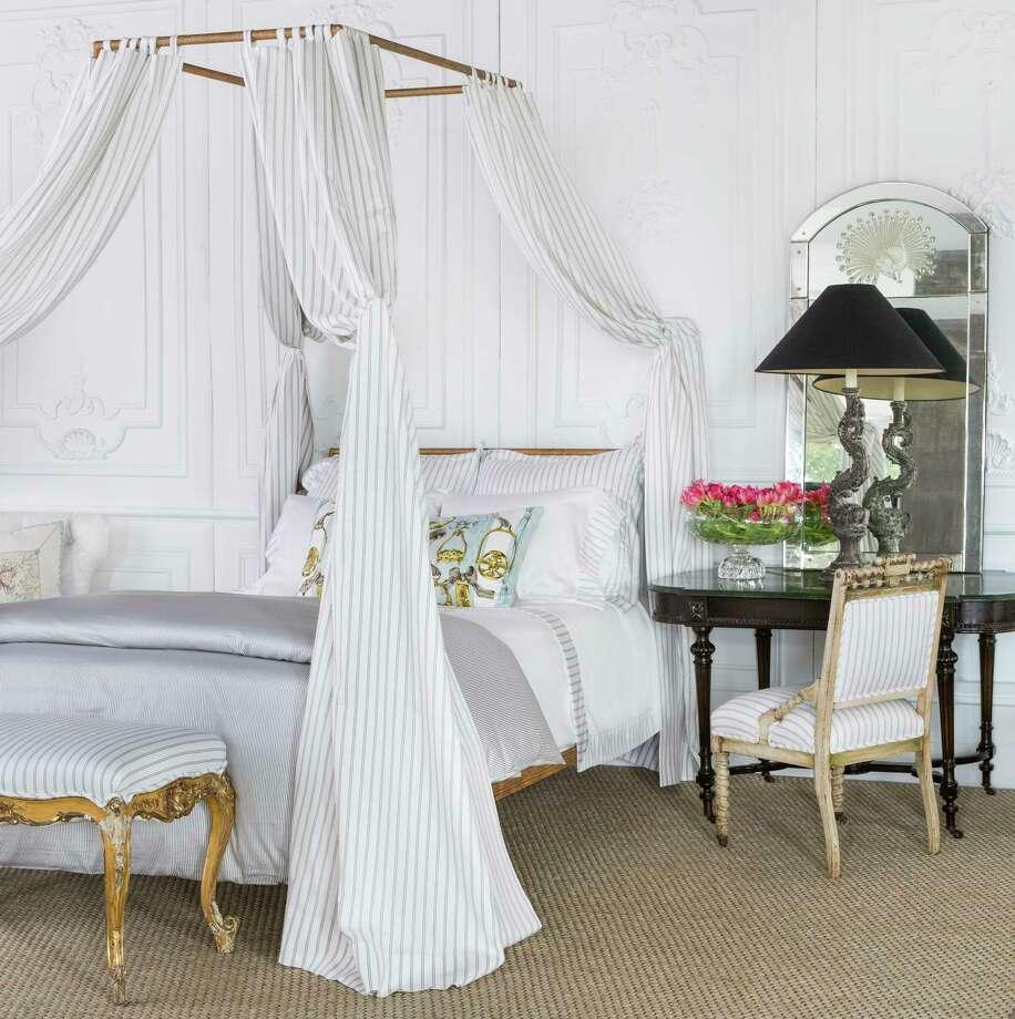 Karen Pulaski's Tribute Goods, 3637 W. Alabama, sells artful luxury bedding that's made in Italy. $150 and up Photo: Julie Soefer / Julie Soefer