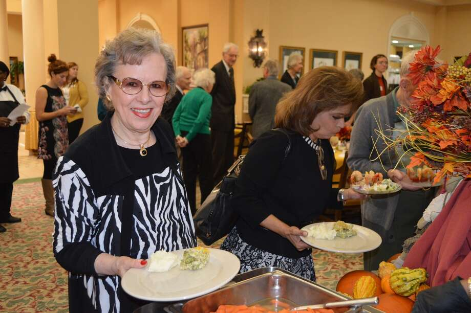 Thanksgiving dinners at Parkway Place provide a festive environment along with an attractive meal prepared by the senior living communities' food staffs. Photo: Courtesy Of Parkway Place