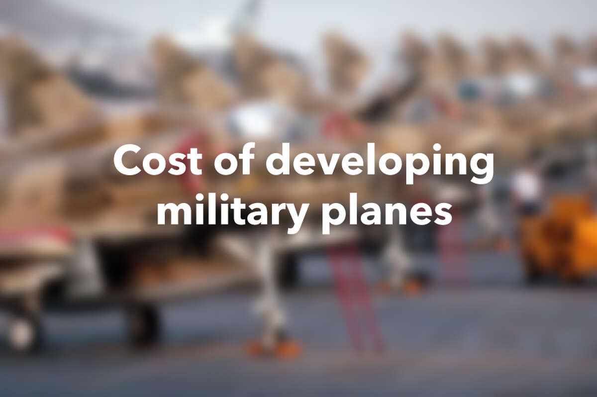 Cost of developing military planes