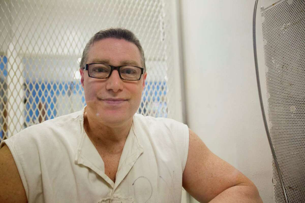 Robert Fratta is a death row inmate who was convicted in the murder-for-hire slaying of his wife. Death row is on the Polunsky Unit in Livingston, Texas. Nov. 15, 2017.