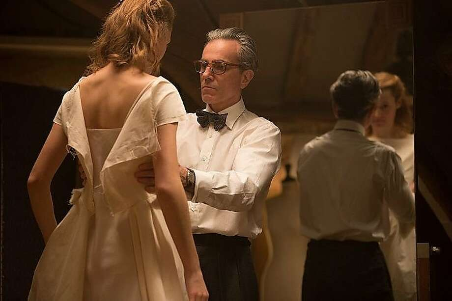 """""""Phantom Thread"""": Daniel Day Lewis' final film performance (so he claims) is as a talented, mercurial fashion designer in the 1950s. Dec. 25. Photo: Focus Features"""