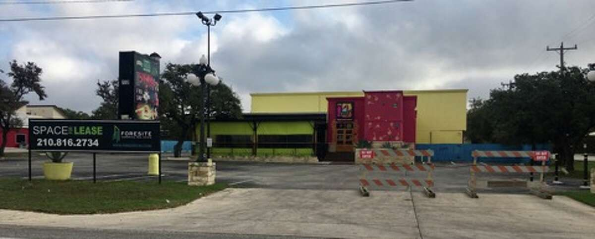 """""""For lease"""" signs are posted outside of 17776 Blanco Road, which was previously occupied by La Cantinita, a restaurant owned by former WWE star Alberto Del Rio."""