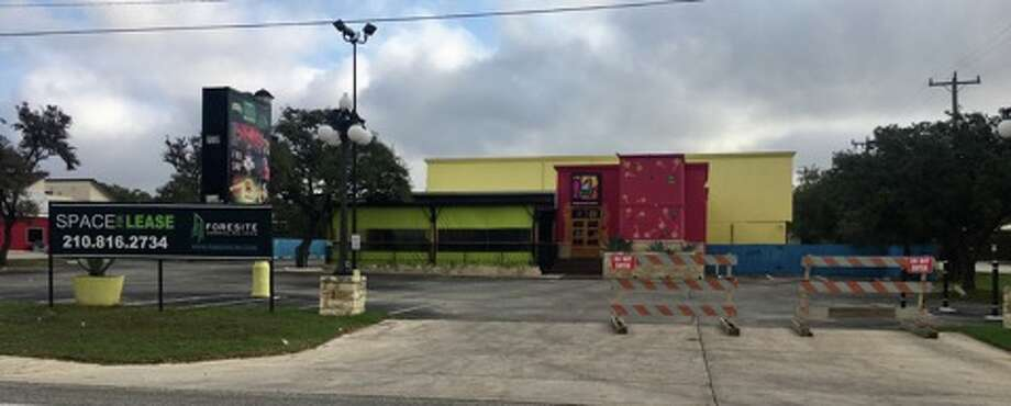 """For lease"" signs are posted outside of 17776 Blanco Road, which was previously occupied by La Cantinita, a restaurant owned by former WWE star Alberto Del Rio."