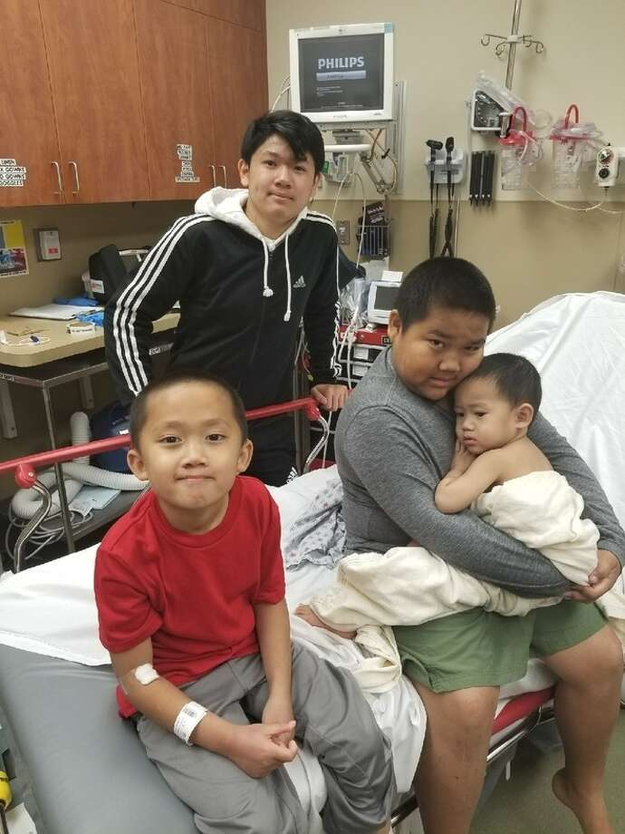 A mother is recovering at a Chico hospital after she was shot five times while shielding her children during the Tehama County shooting rampage. Photo: Courtey Of Phommathep Family, KCRA