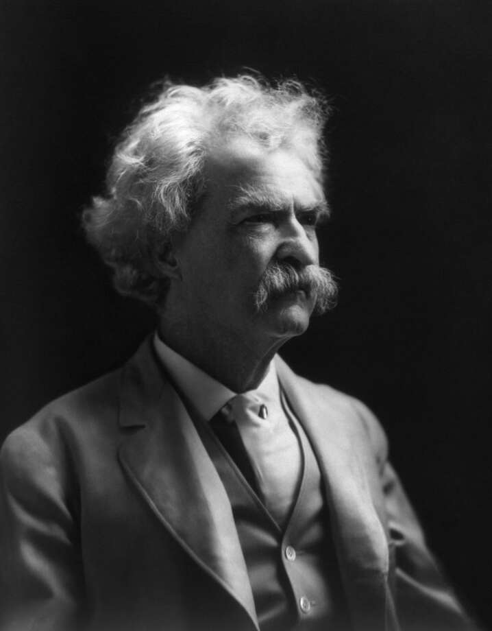 Mark Twain from the Library of Congress Photo: Library Of Congress / ST