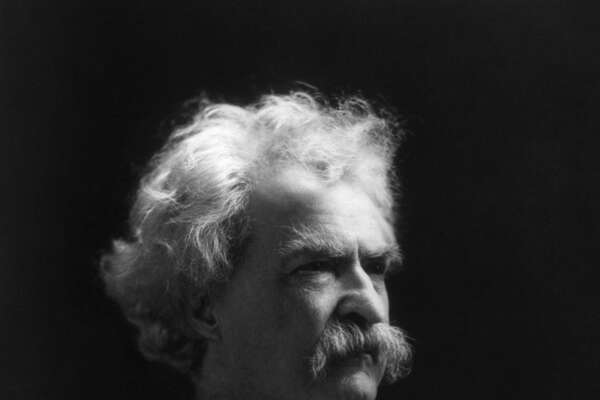Mark Twain from the Library of Congress