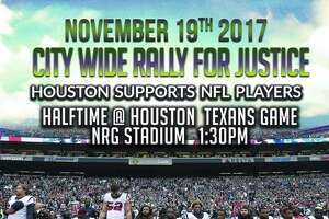 Community Activist Deric Muhammad said in a press release that he is organizing a rally to support NFL players protesting at NRG Stadium at 1:30 p.m. on Nov. 19, 2017.
