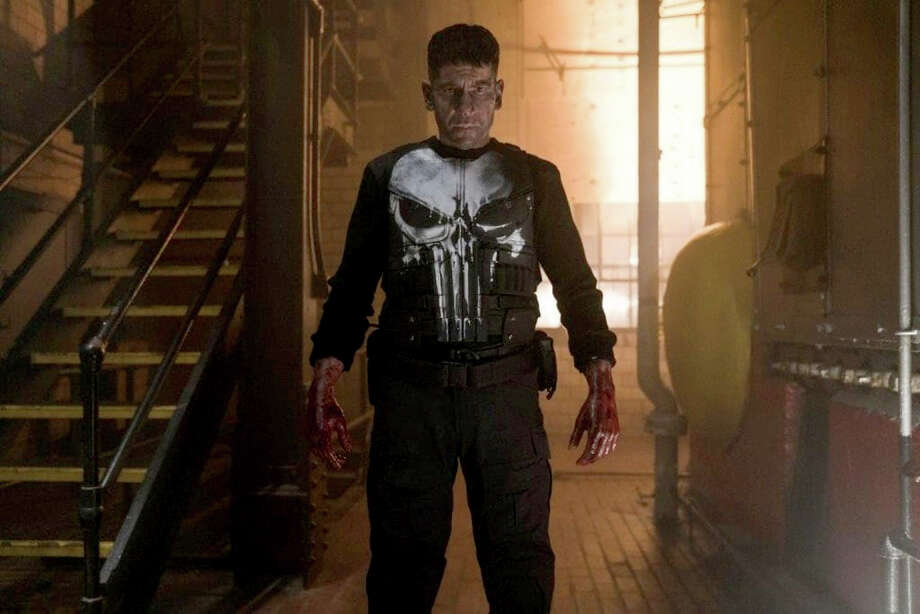 "Jon Bernthal stars as Frank Castle in Marvel's ""The Punisher."" Photo: Netflix-Marvel / Netflix-Marvel"