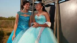 The exuberance of San Antonio teens Jaquelyn (Jackie) Ayala of Warren High School and Caterina (Nina) Parafina of Thomas Jefferson High is captured in a film on HBO about the friends' joint quinceañera.