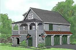 An artist's rendering of a carriage house John Witt Construction converted into an apartment in Saratoga Springs. (Photo provided)