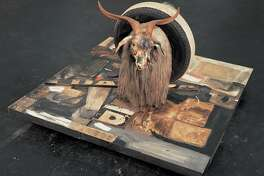 "FILE � In an undated handout photo, ""Monogram"" by Robert Rauschenberg. In a move cutting against the grain of Modern and contemporary art, the Rauschenberg Foundation has adopted a policy of making images of the artist�s work much more widely available for free. (Robert Rauschenberg Foundation via The New York Times) -- NO SALES; FOR EDITORIAL USE ONLY WITH STORY SLUGGED RAUSCHENBERG FAIR USE BY KENNEDY FOR FEB.27, 2016. ALL OTHER USE PROHIBITED. �"