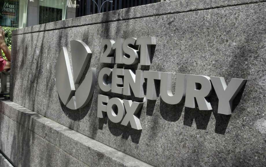 The 21st Century Fox sign in New York City
