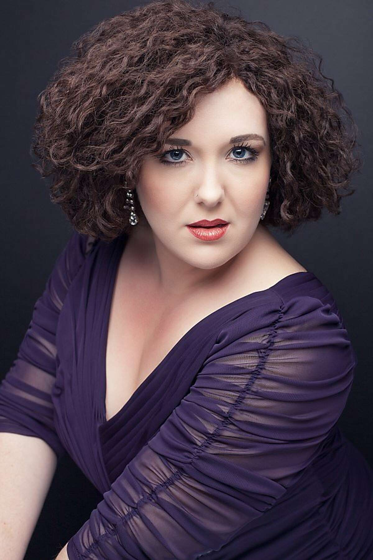 Soprano Toni Marie Palmertree, a San Francisco Opera Adler Fellow, performs with musicians of the Opera Orchestra at the San Francisco Conservatory of Music Nov. 26 to raise money for victims of the Wine Country fires and Hurricane Harvey.