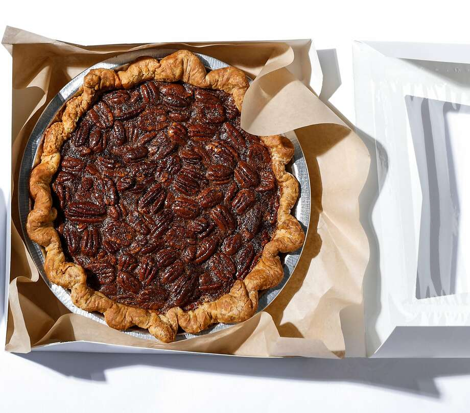 Pecan pie from Black Jet Baking Co., available for delivery from Luke's Local, $28. Photo: Russell Yip, The Chronicle