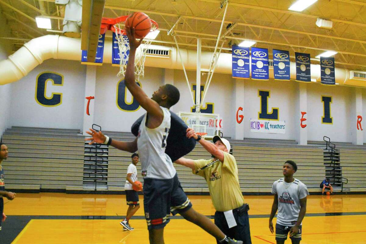 Klein Collins' 6-8 junior Montavious Murphy is the only experienced big for the Tigers this season.