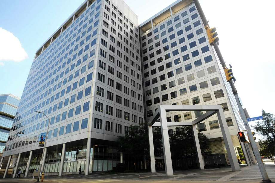 Charter Communications has acquired for $100 million the loan for its headquarters building at 400 Atlantic St., in downtown Stamford, Conn. Photo: Michael Cummo / Hearst Connecticut Media / Stamford Advocate
