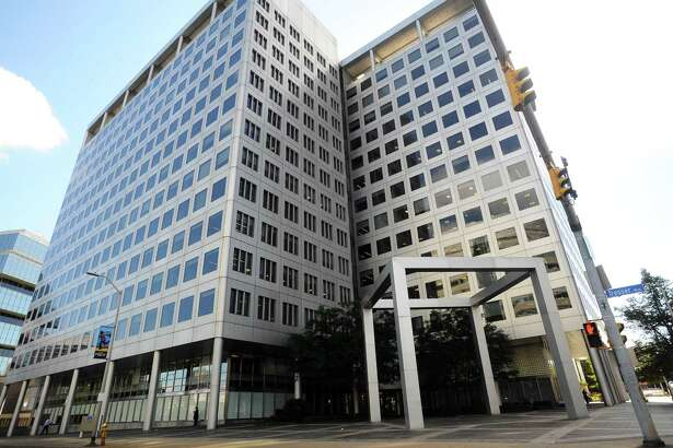 Charter Communications has acquired for $100 million the loan for its headquarters building at 400 Atlantic St., in downtown Stamford, Conn.