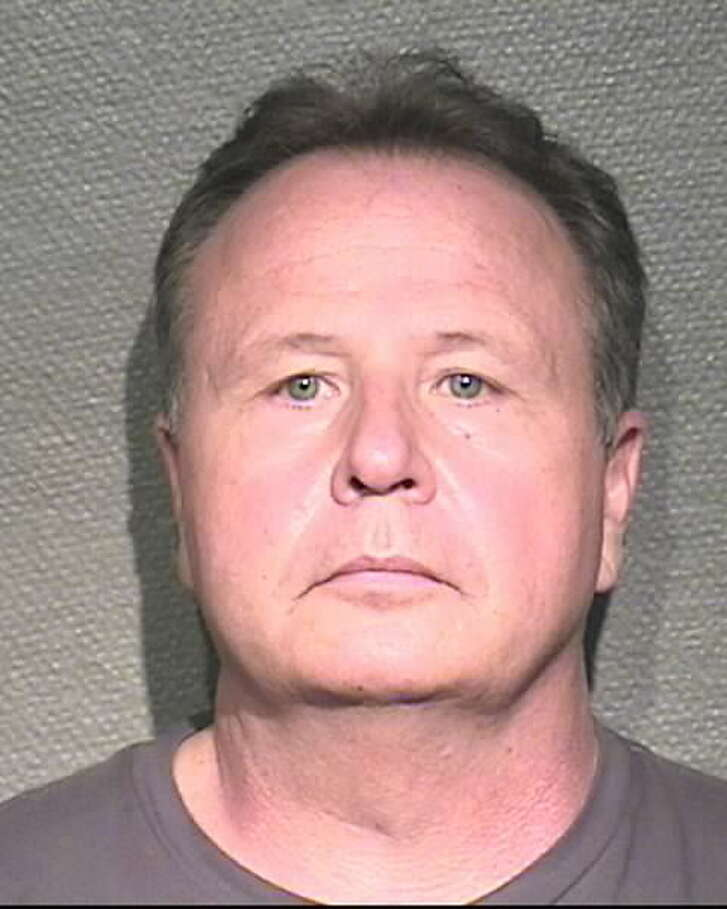 Robert Teweleit is a longtime officer with the Houston Police Department who was arrested and charged with prostitution during a 10-day sting at a former massage parlor turned brothel that was taken over in early October by HPD.   Swipe through to see photos of the other men arrested in the massive prostitution sting.