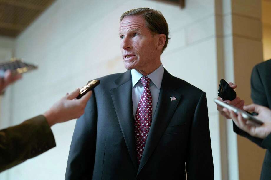 U.S. Sen. Richard Blumenthal and his staff on Friday were investigating what they believe is an anonymous Internet attack involving a women who says she was harassed and assaulted when Blumenthal was U.S. attorney nearly 40 yuears ago. Photo: Chip Somodevilla / Getty Images / 2017 Getty Images