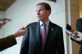 U.S. Sen. Richard Blumenthal and his staff on Friday were investigating what they believe is an anonymous Internet attack involving a women who says she was harassed and assaulted when Blumenthal was U.S. attorney nearly 40 yuears ago.