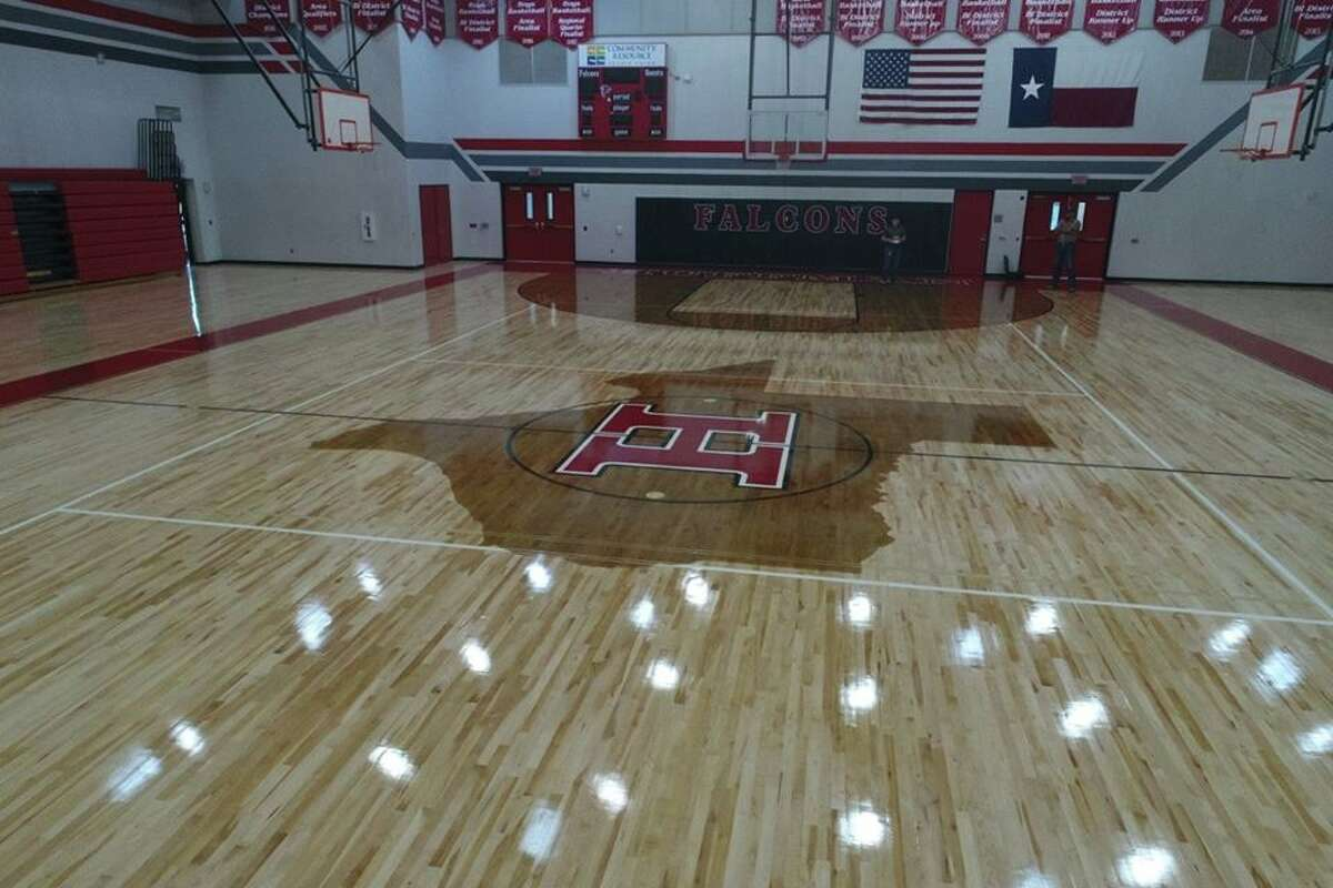 The Hargrave Falcons competition gym has been upgraded after it was damaged from flooding during Hurricane Harvey.