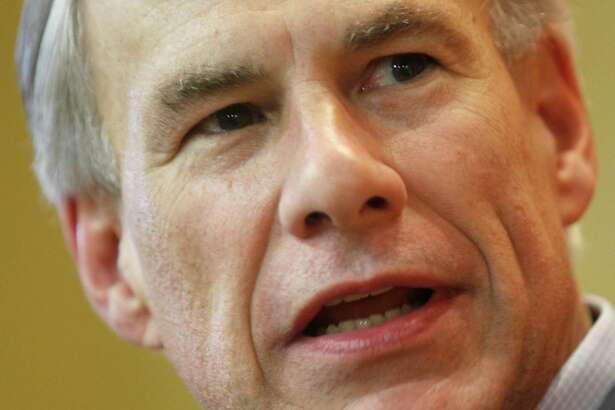 Texas Gov. Greg Abbott.  (Nathan Lambrecht/The Monitor via AP)