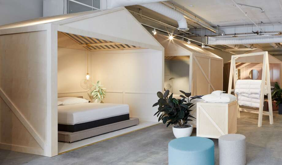 Casper customers can book an appointment at one of the in-store nap pods. Photo: Casper