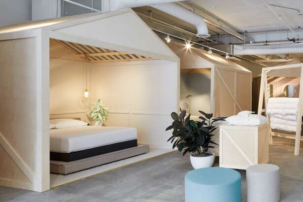 Casper customers can book an appointment at one of the in-store nap pods.