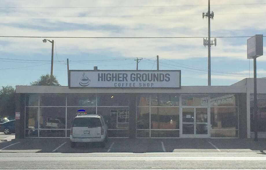 Higher Grounds Coffee Shop opened Monday on Andrews Highway. Photo: Rich Lopez