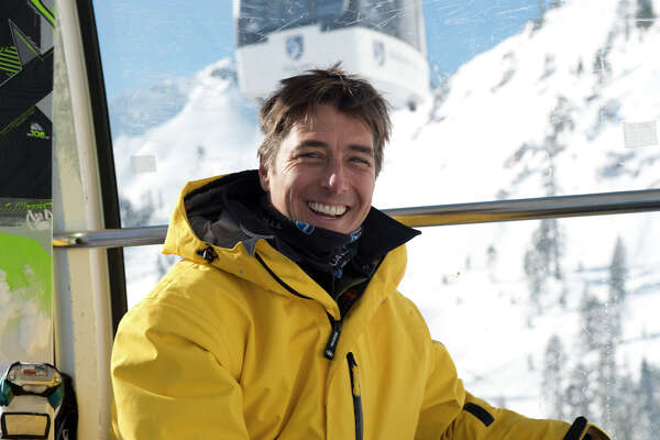 Jonny Moseley skiing at Squaw Valley Sponsored by Squaw Valley Alpine Meadows