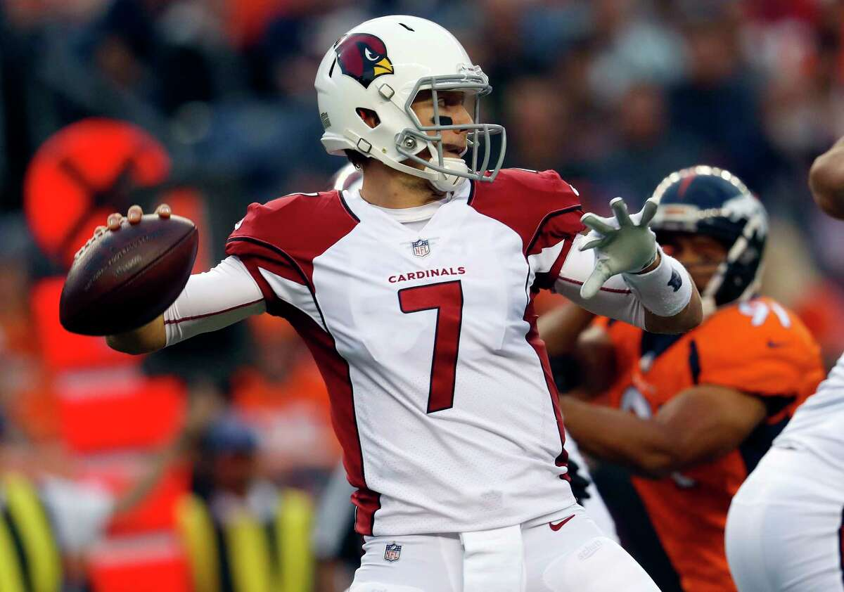 Blaine Gabbert will start at quarterback for the Cardinals on Sunday when they face the Texans at NRG Stadium.