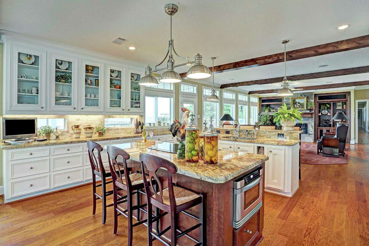 This Kemah home features two islands in its kitchen. An island is one of the most common things added in kitchen remodels, according to a recent Houzz survey.
