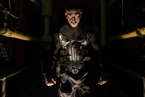 "Jon Bernthal stars in ""Marvel's The Punisher."""